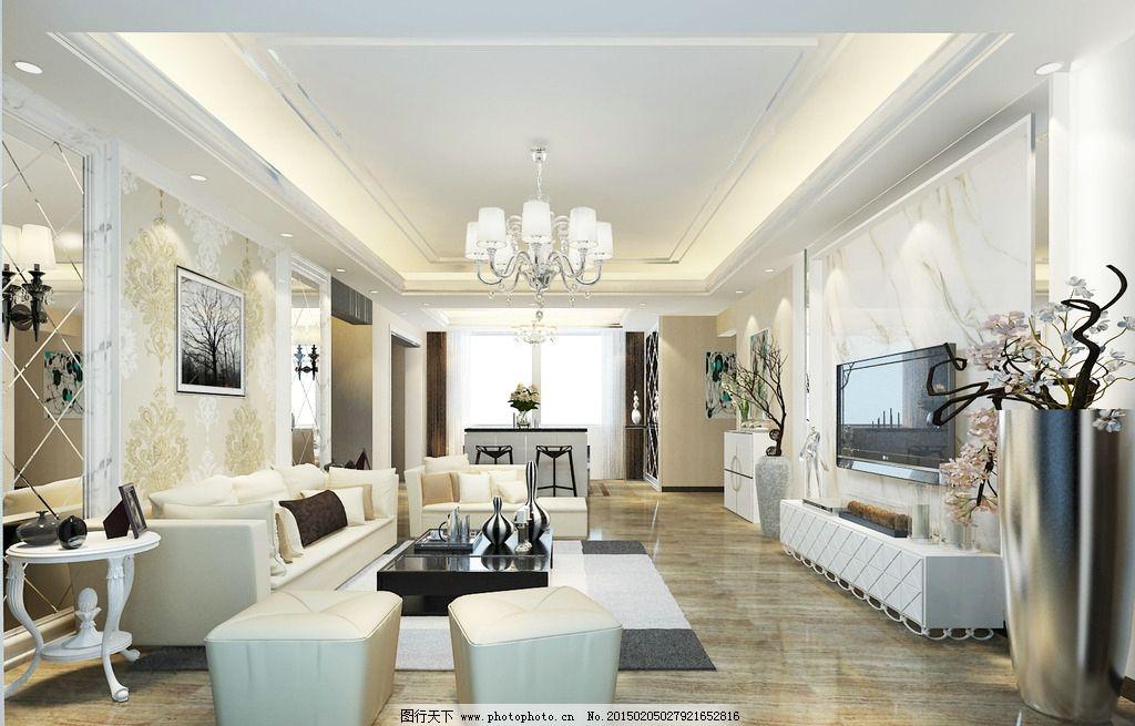 欧式客厅设计图片图片