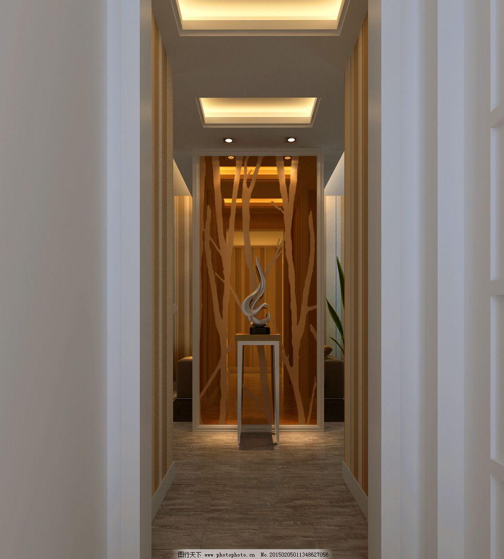 过道设计 过道设计免费下载 装饰 茶镜 家居装饰素材 室内设计