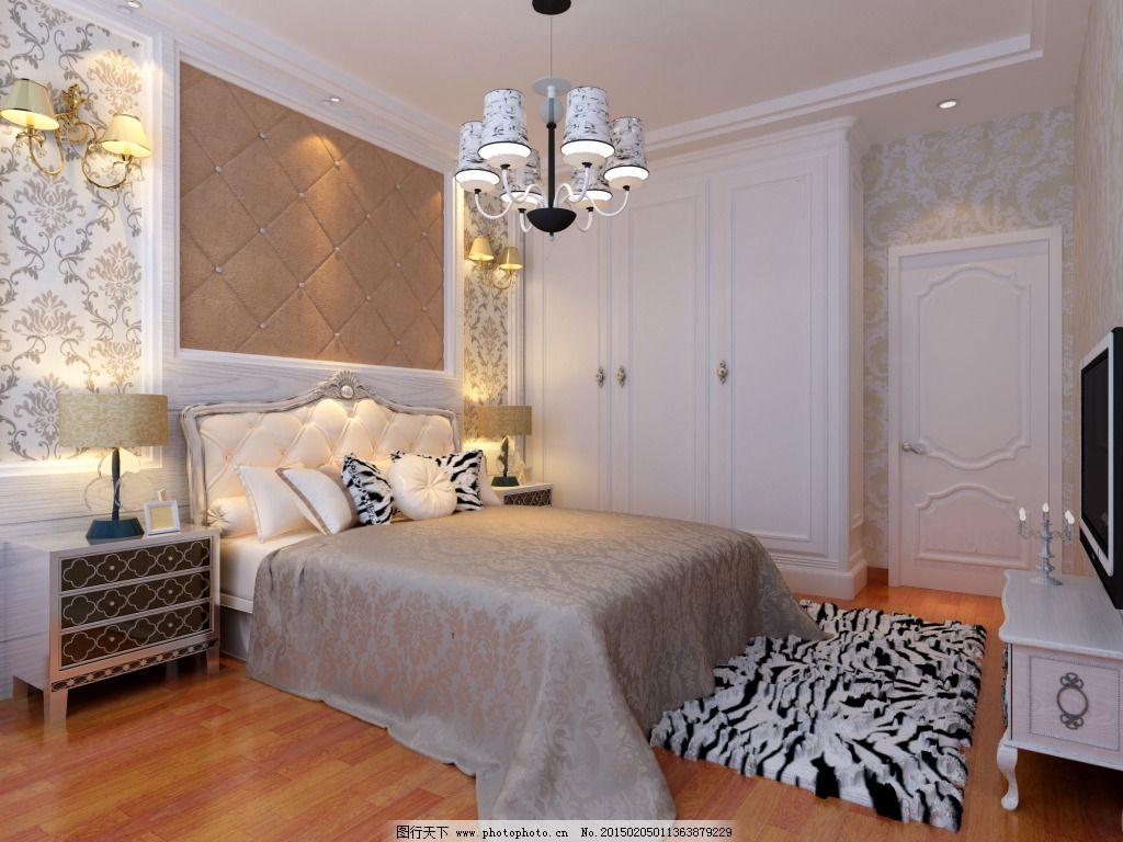 卧室图片免费下载 床 地板图片