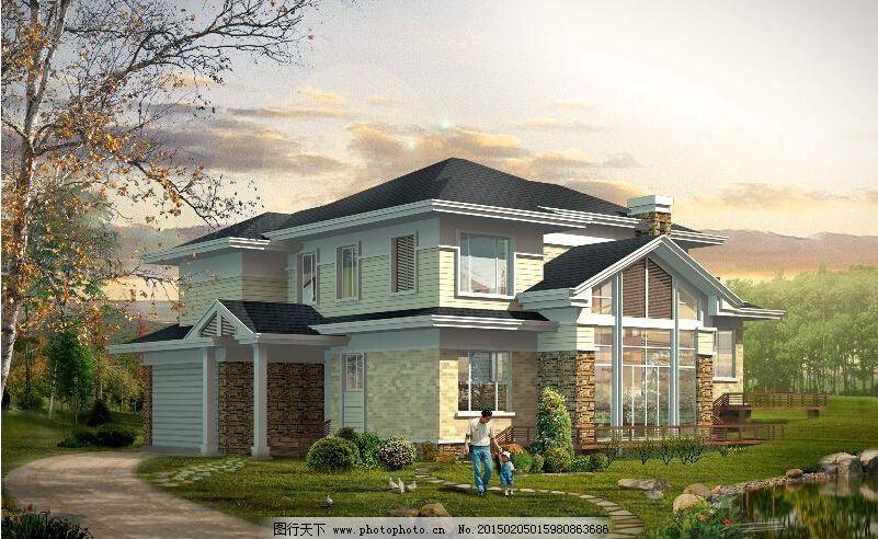 二层房屋cad图纸_建筑图纸