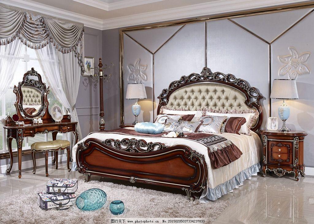 欧式床图片图片