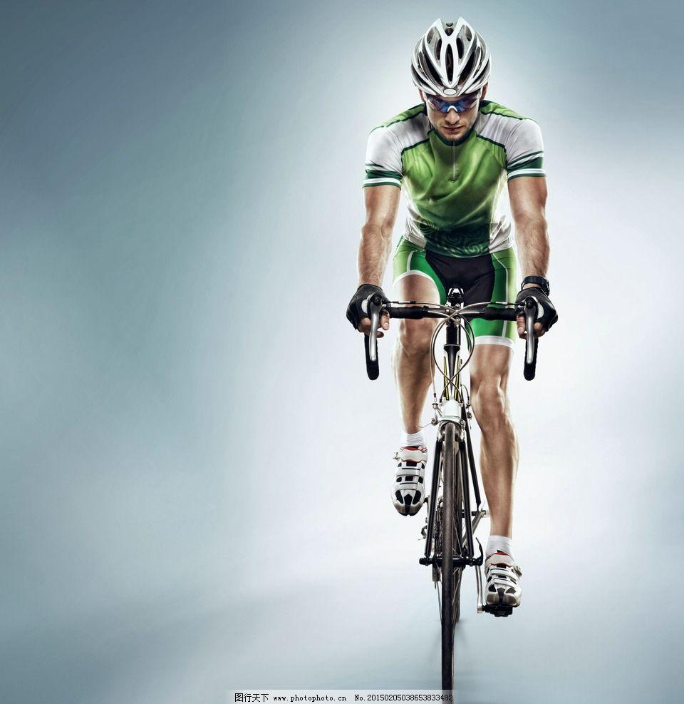 自行车赛车手图片