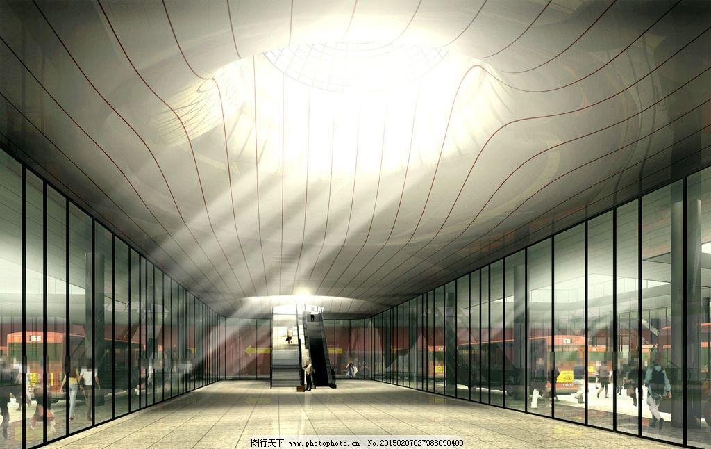 大厅室内环境设计图片