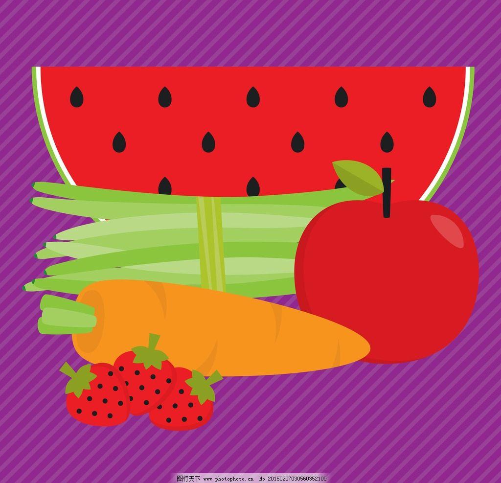 水果背景 水果矢量 生物世界 橙子 水果标签 水果 标签 矢量水果 可爱