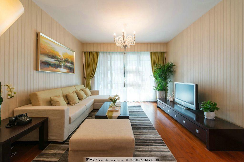 室内客厅设计 室内客厅设计免费下载 背景墙 电视机 沙发 室内设计