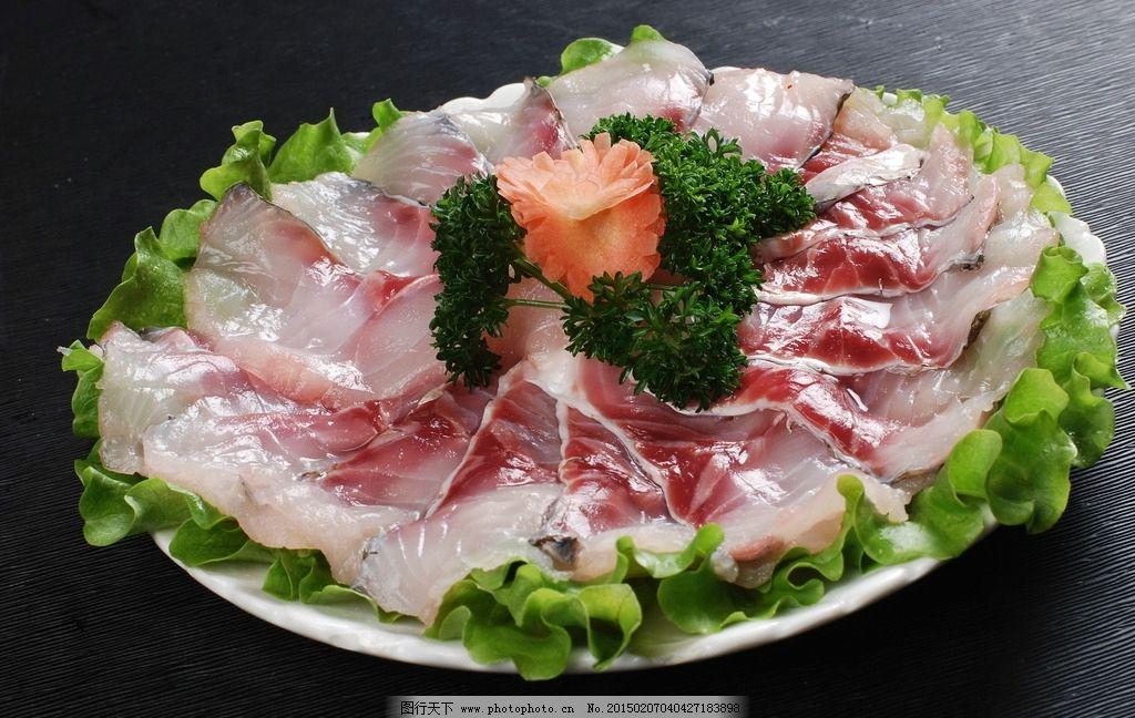 生鱼片 鱼片 火锅 火锅菜品 豆捞 火锅配菜 涮锅子 火锅食材 食物原料图片