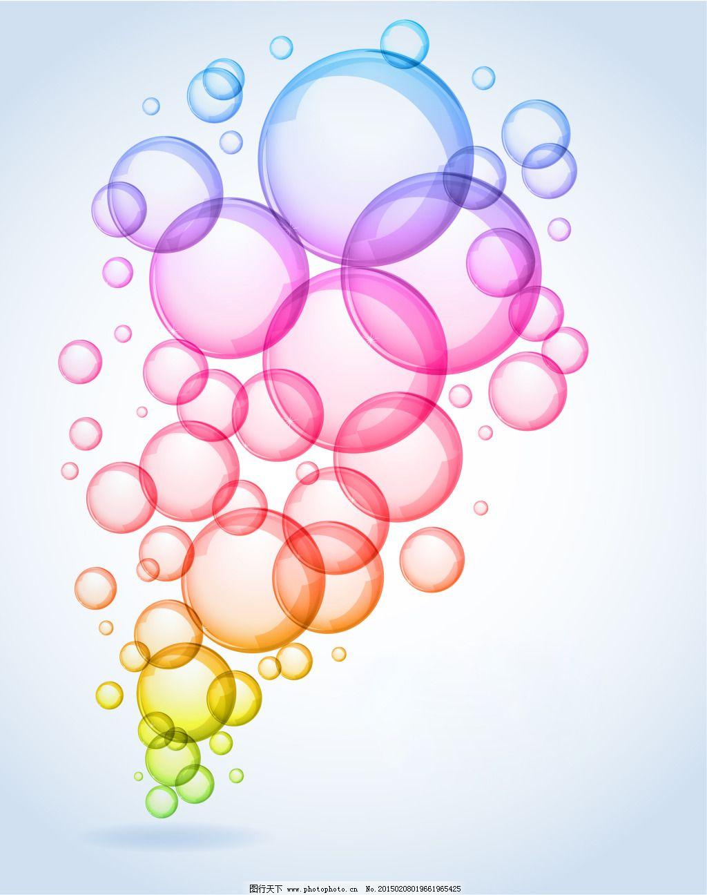 个性手绘墙绘成熟气泡