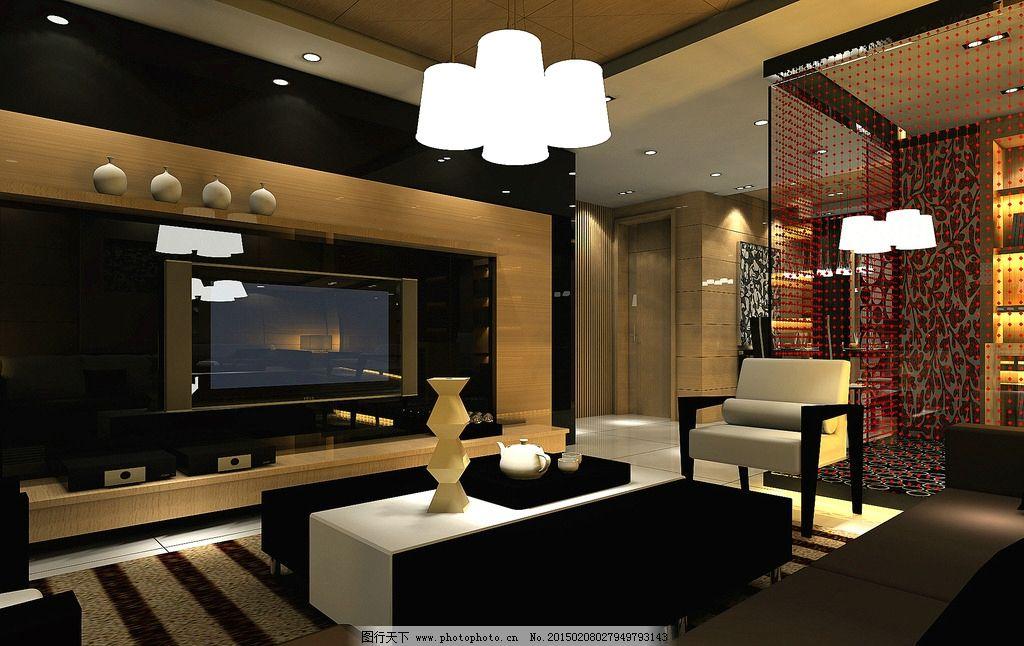 客厅场景图片_室内设计_环境设计_图行天下图库