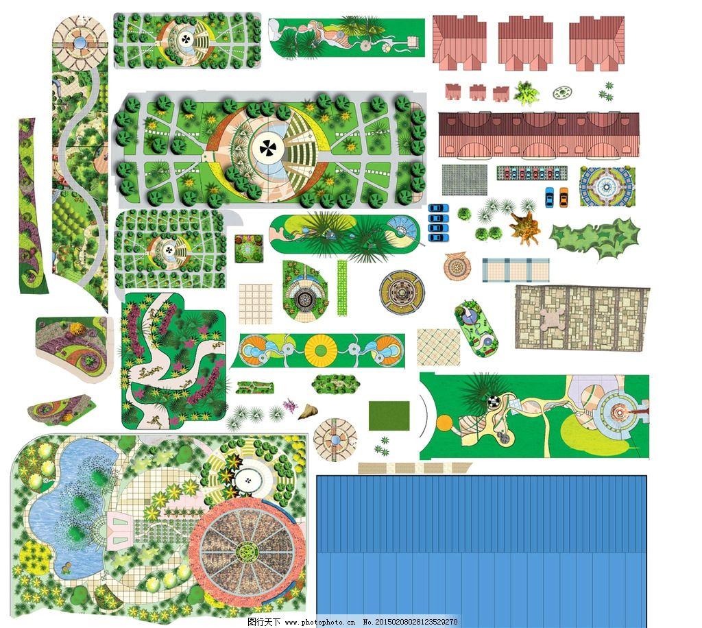 景观规划平面图图片