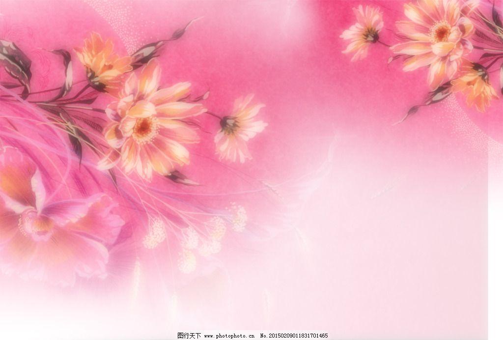 花背景免费下载 粉红 花 花背景 花素材 菊花 温馨 鲜花 优美 装饰画