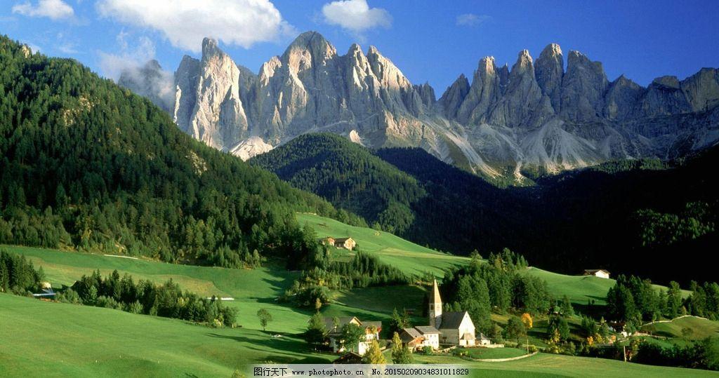 欧洲乡村风景图片