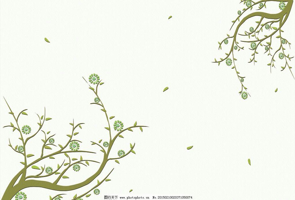 韩式花纹 壁画背景墙 花纹花边 韩式      花 手绘鲜花 布纹 装饰花纹