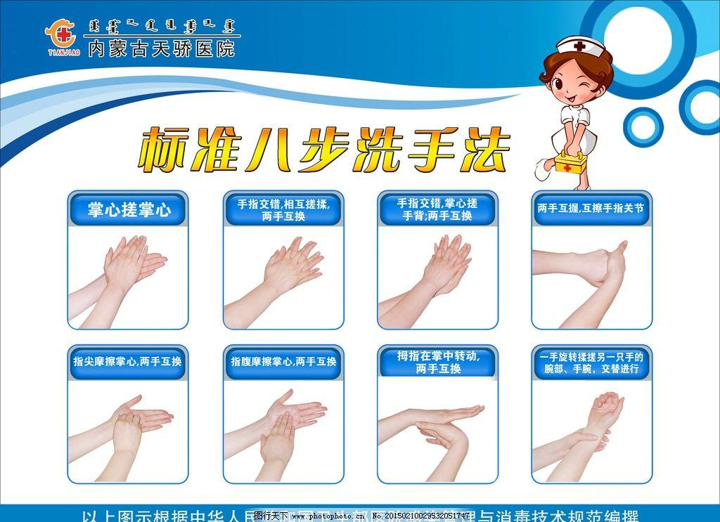 洗手法 医院洗手法 七步洗手法