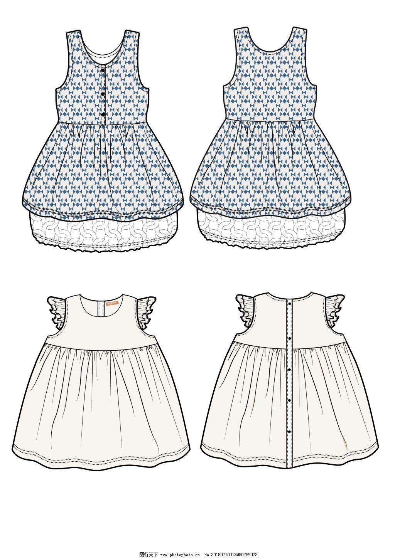 裙子图片画画图片
