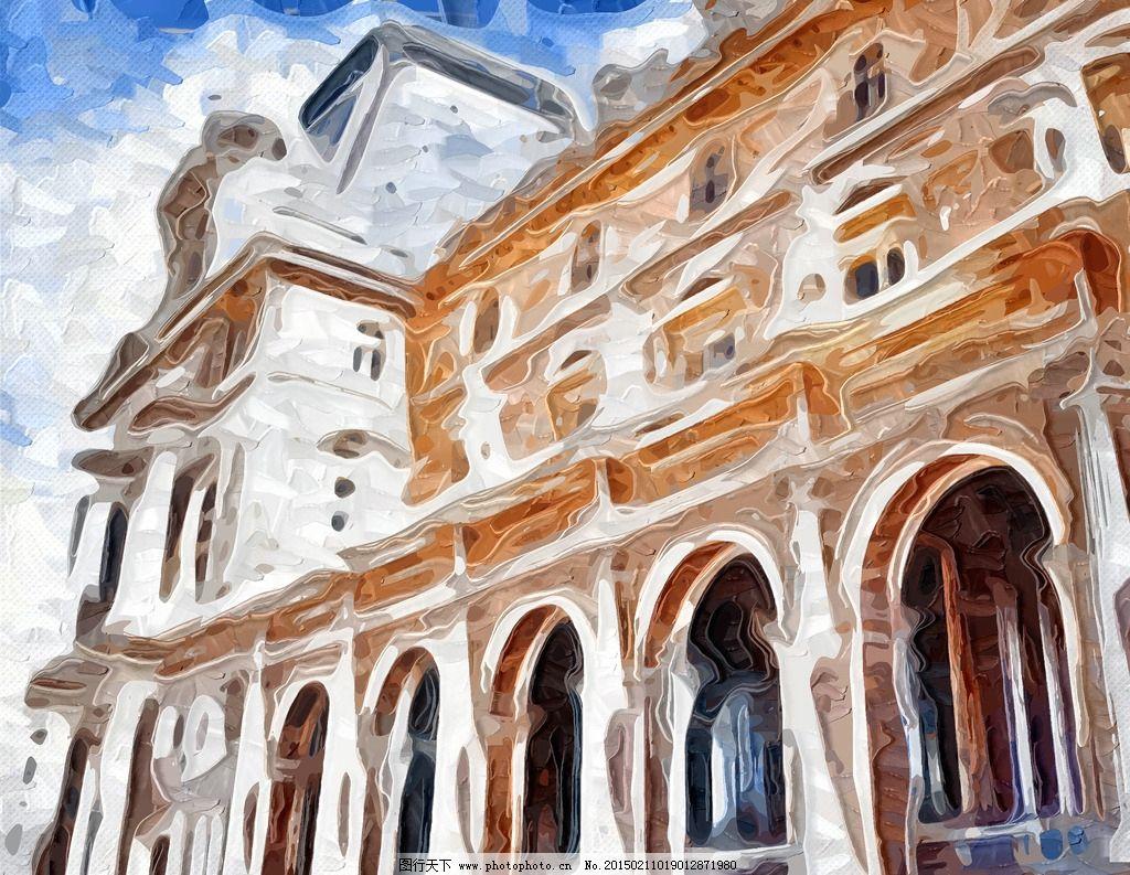 抽象建筑壁纸
