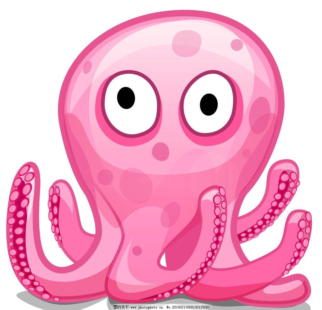可爱小章鱼图片