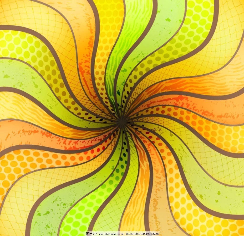 创意曲线空间背景图片