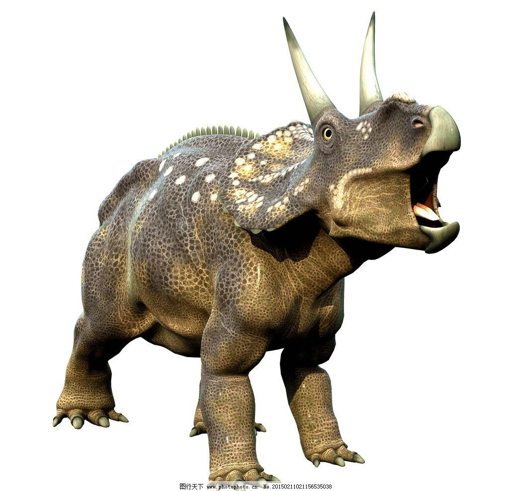 三角龙 侏罗纪 恐龙 食草恐龙 史前动物