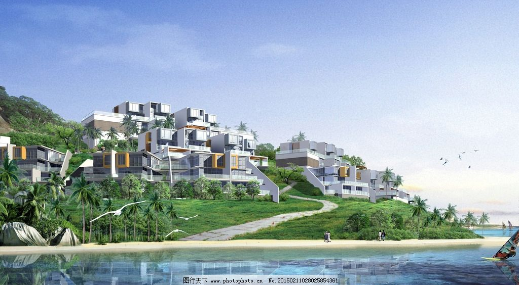 建筑设计 景观设计 地形设计 环境设计 空间设计 共享作品 设计 环境