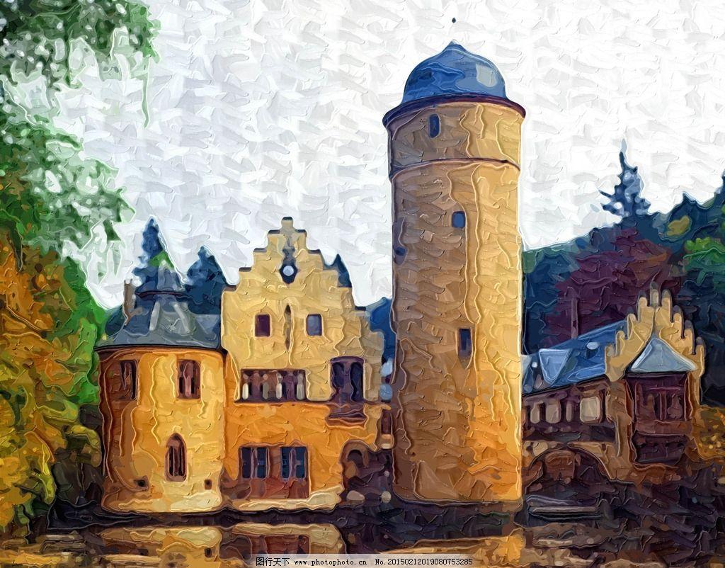 欧式城堡顶纹理