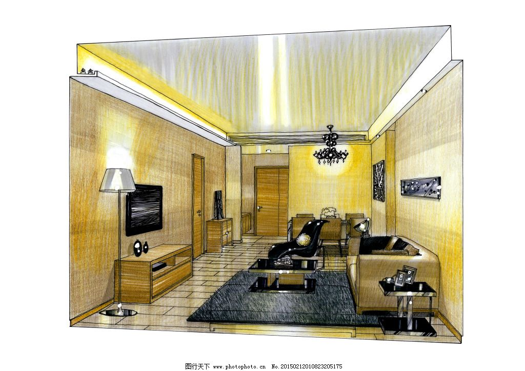 3d建筑 建模 建筑效果图 室内建筑 手绘建筑 素描 透视图 建筑家居