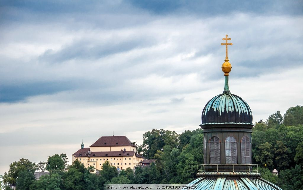 萨尔兹堡 唯美 风景 风光 旅行 奥地利 欧洲 欧式建筑 人文