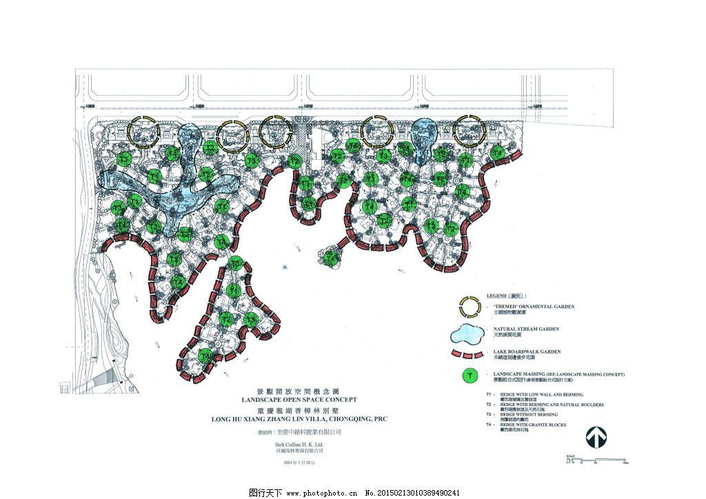 重庆龙湖香樟林手绘图片素材