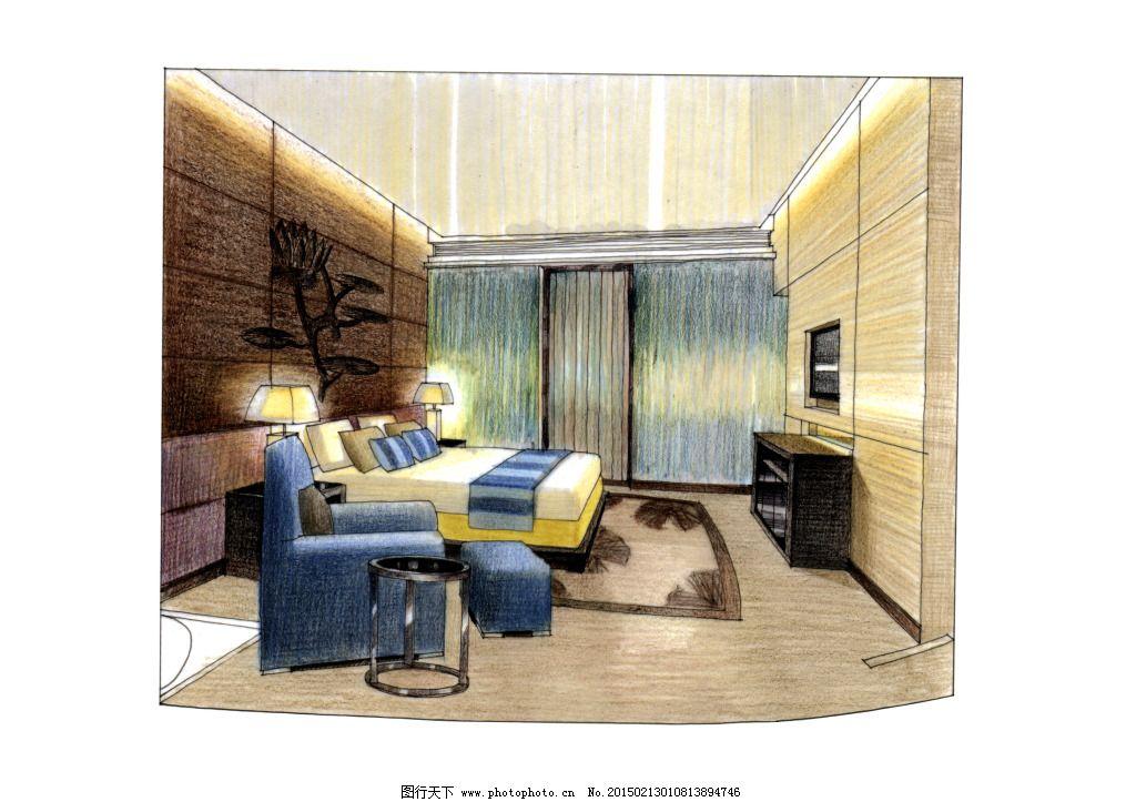室内设计 手绘图片 家居建筑