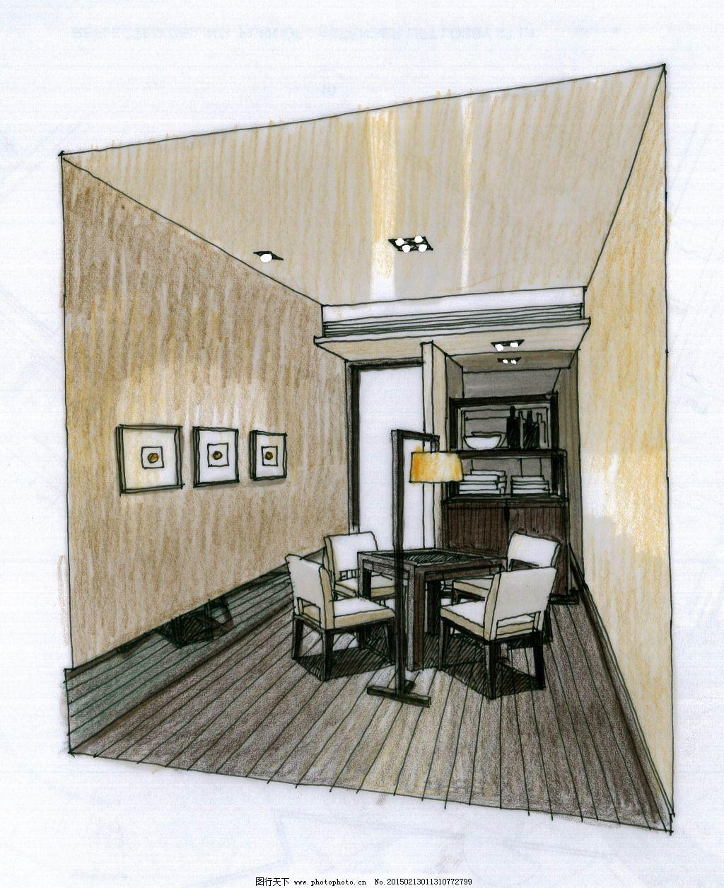 3d建筑 绘画 建筑效果图 模型 室内建筑 手绘 素描 透视图 线描 素描