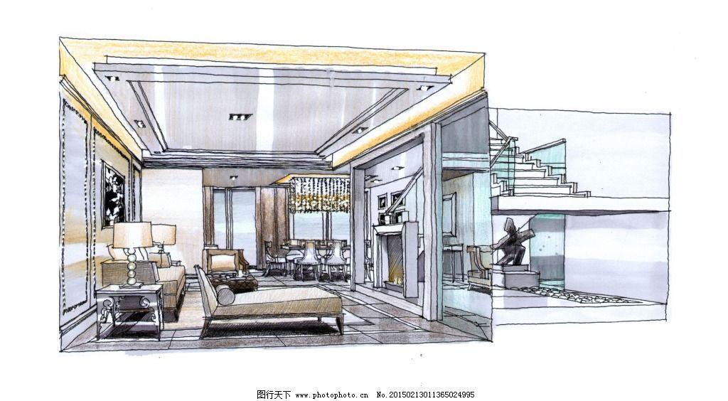 室内家居 欧式室内建筑 建筑家居 效果图绘画建模建筑效果图家居透视