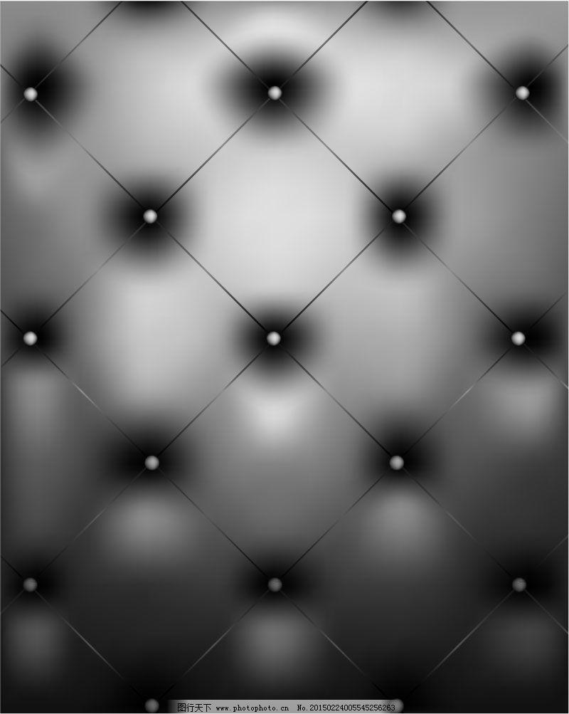 创意菱形格纹皮革背景矢量素材