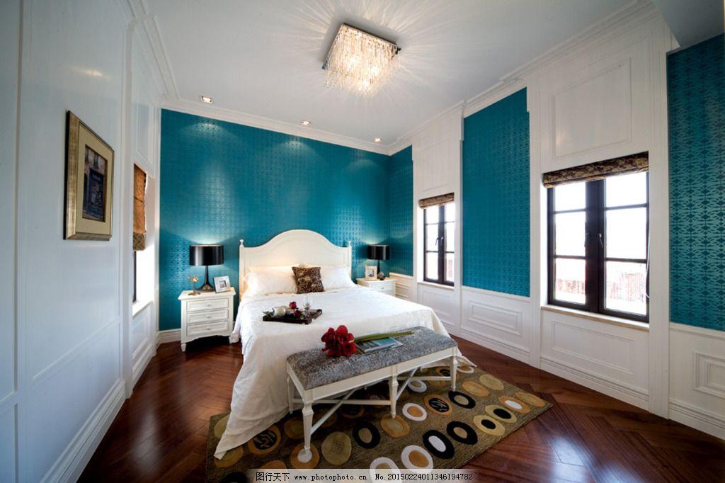 卧室3d效果图