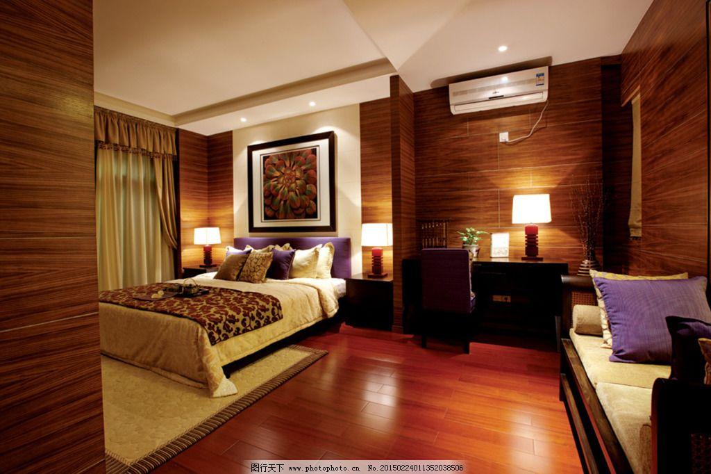 欧式卧室素材_室内设计