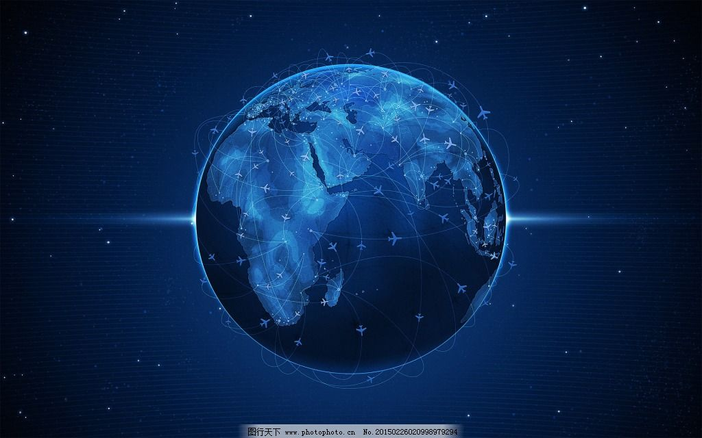星空地球简笔画