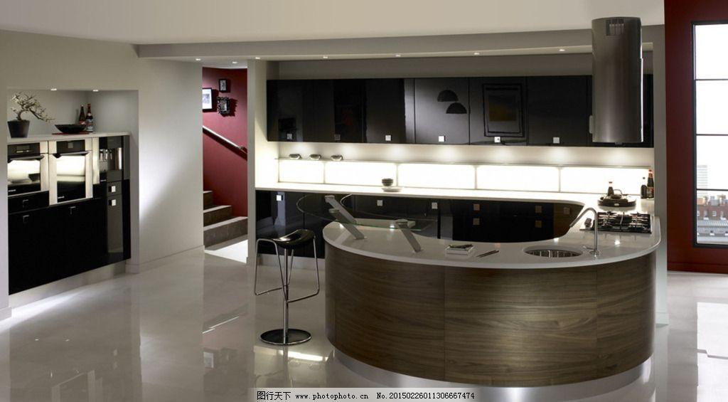 黑色厨房参考免费下载 参考 设计 装修 参考 设计 装修 家居装饰素材