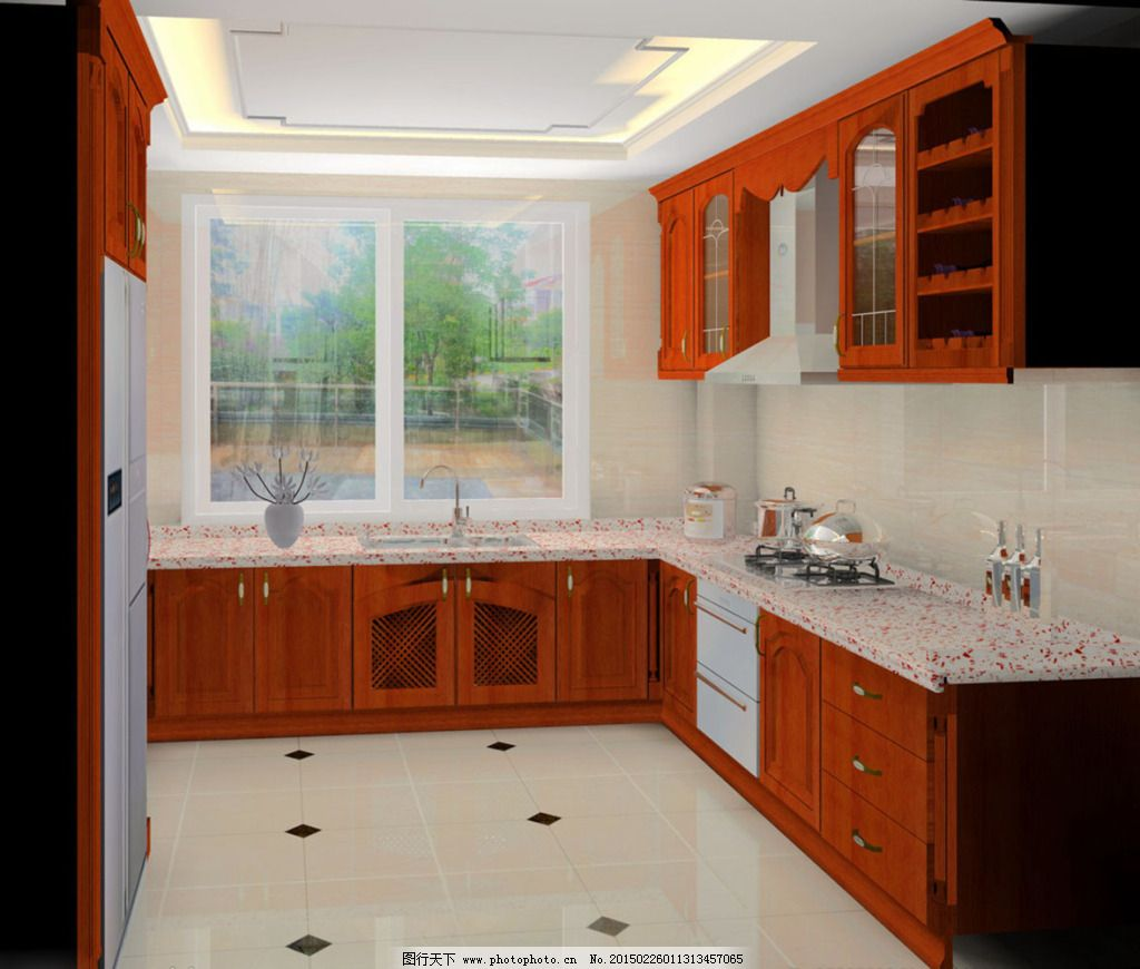 木头厨房免费下载      设计 装修 设计      装修 家居装饰素材 室内