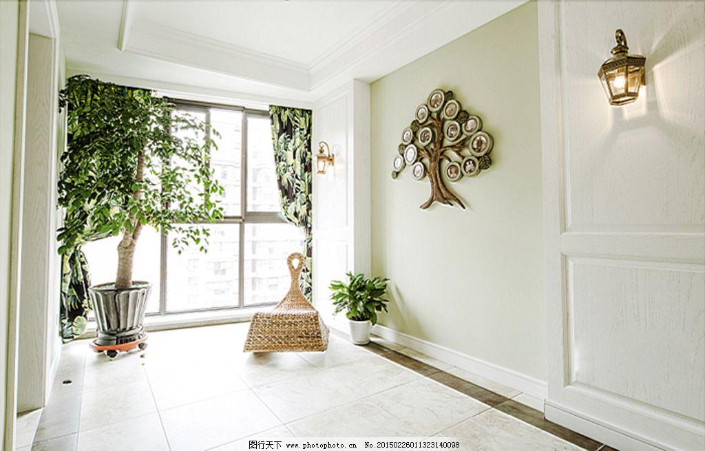 柜子 花瓶 画框 家居设计 落地灯 木板 木纹 沙发 家居设计 室内