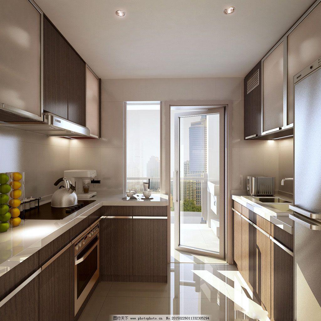 厨房简单设计 厨房简单设计免费下载 效果图 装修 家居装饰素材