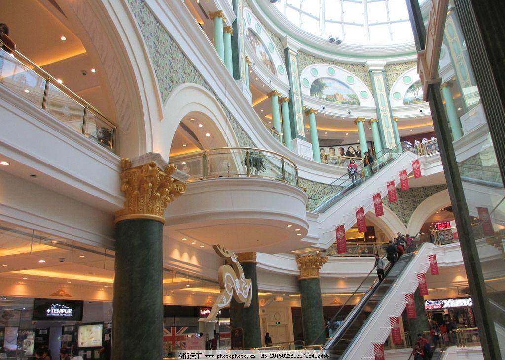 铜艺 铜扶梯 铜楼梯 通扶手 欧式建筑 石膏线 高端商场 欧式吊顶壁画