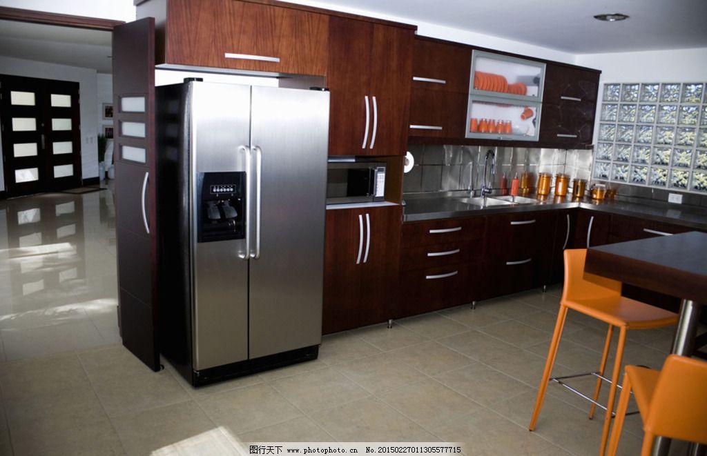 冰箱厨房免费下载      设计 装修      设计 装修 家居装饰素材 室内