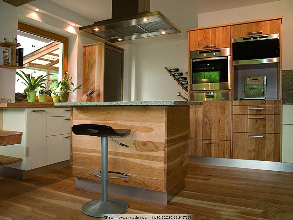 木色装修厨房免费下载 参考      装修 装修      参考 家居装饰素材
