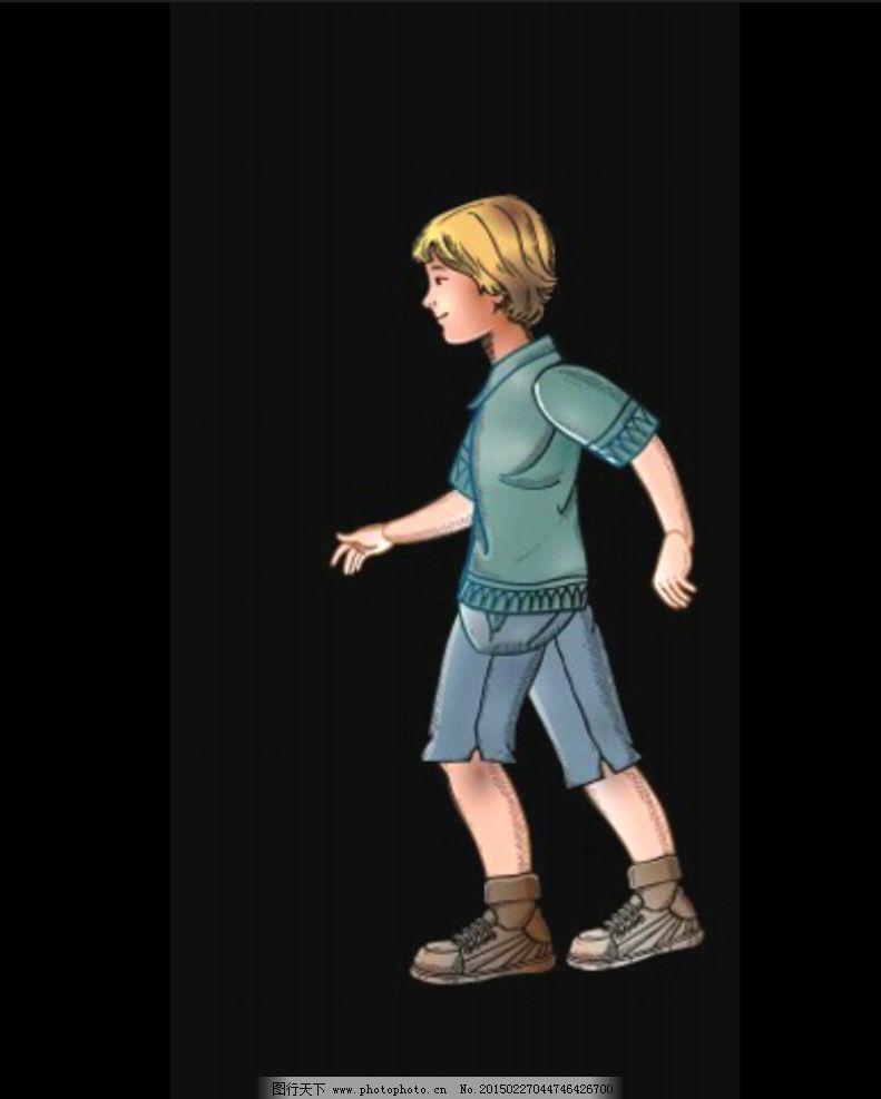 男子 男孩 男孩子 走路 视频背景 视频素材 高中生 初中生 视频背景