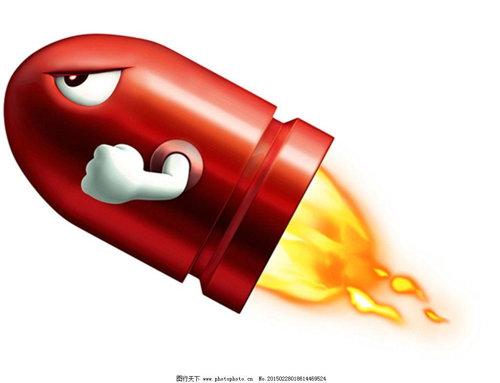 手绘火手绘炸弹