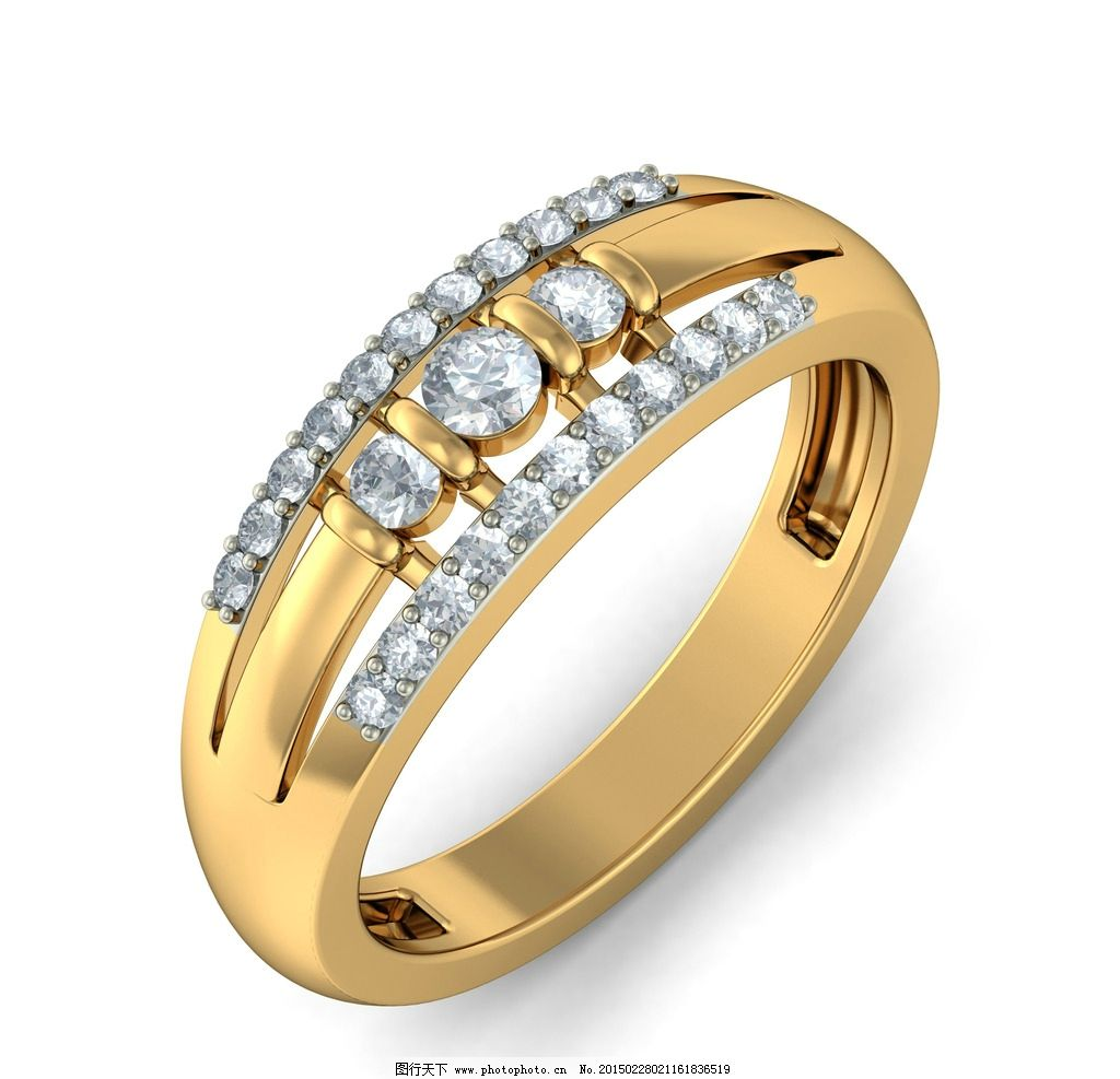 钻石戒指图片