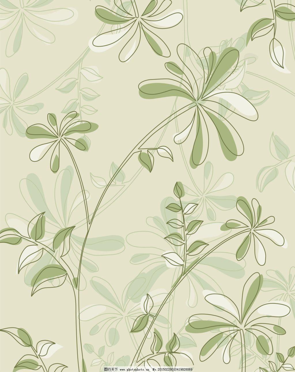 叶纹样欧式花边素材 透明