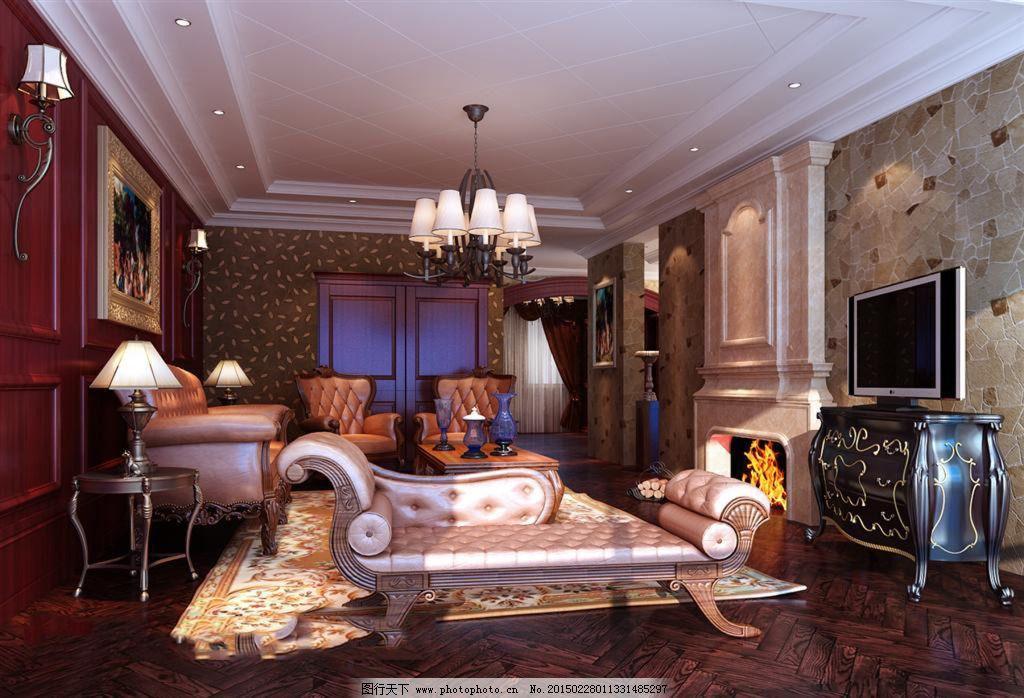 欧式家具设计图免费下载