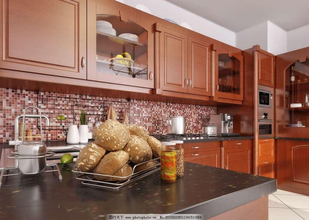 古典欧式 别墅厨房