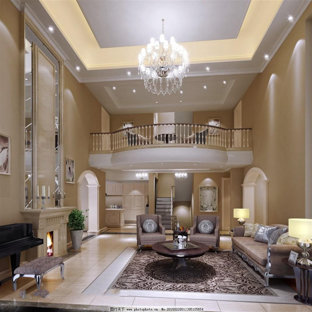 客厅 欧式风格