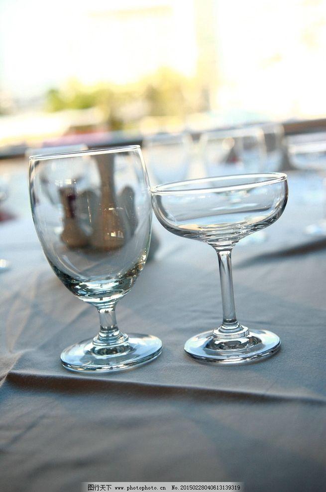 红酒杯 餐具 高脚杯 刀叉 自助餐 夕阳 香槟杯 西餐 泰国游