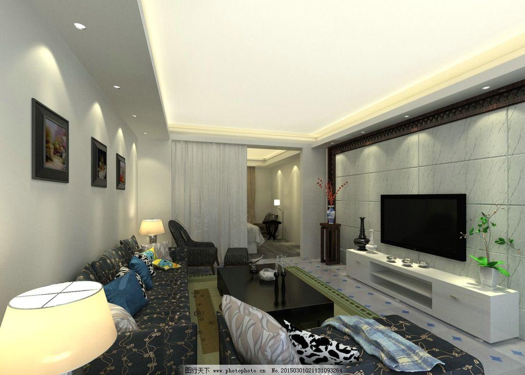 客厅效果图        室内效果图 室内装修 装修效果图 3d效果图 室内